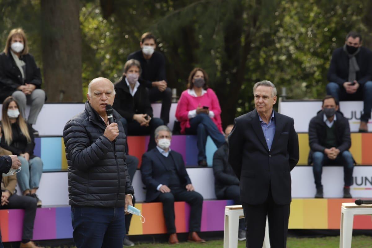 Grindetti, jefe de campaña de Santilli