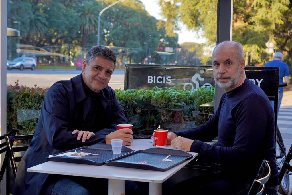 Grindetti felicitó a Jorge Macri por bajarse como cabeza de lista
