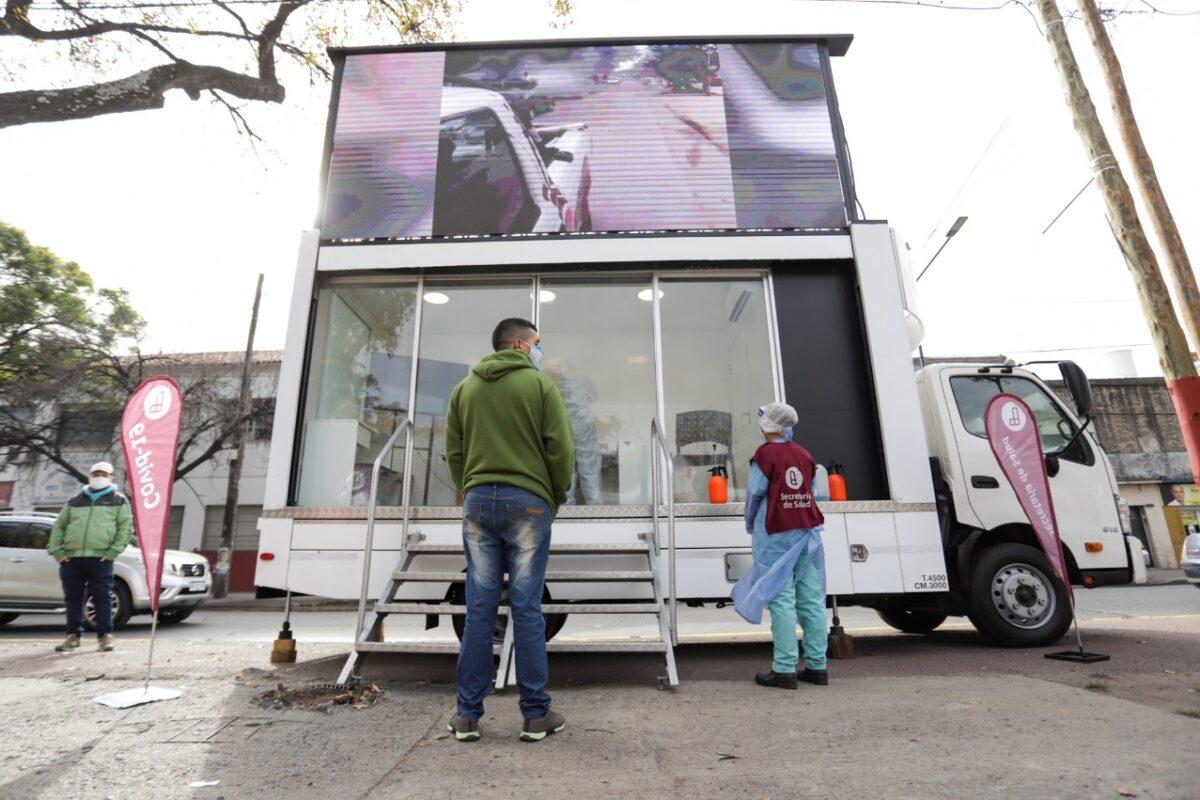 Operativos de salud en ambos lados de Lanús