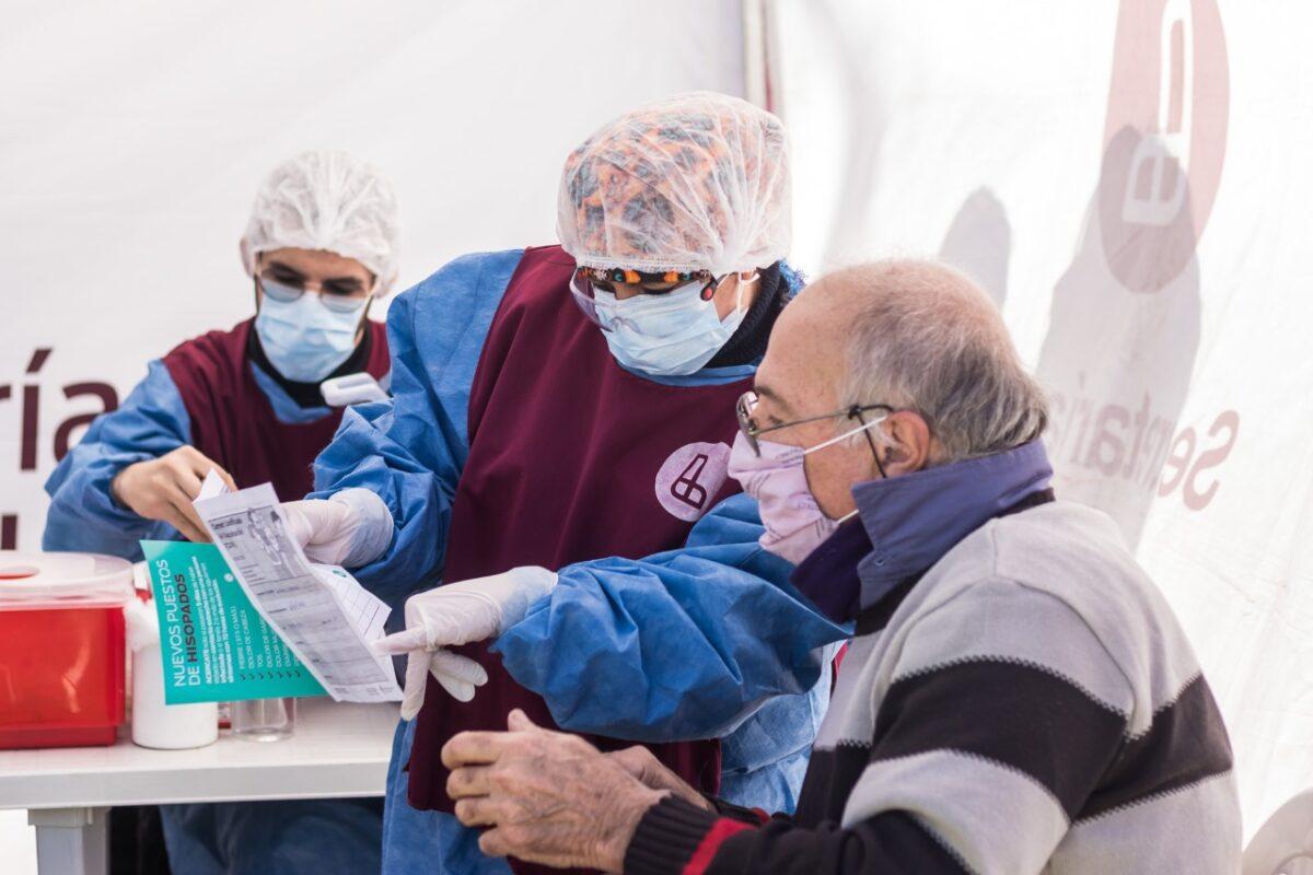 Los operativos de Salud, en Caraza, Escalada y Chingolo