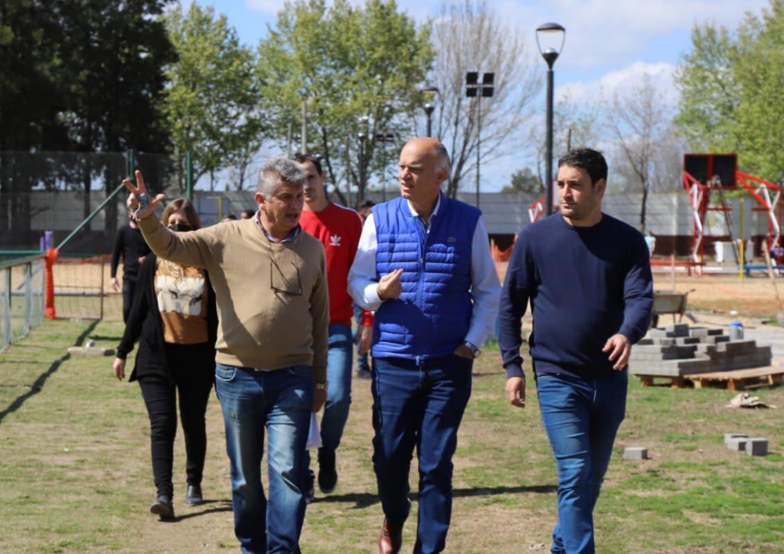 """Grindetti: """"Con los fondos, el gobierno provincial está dejando de lado a Lanús"""""""