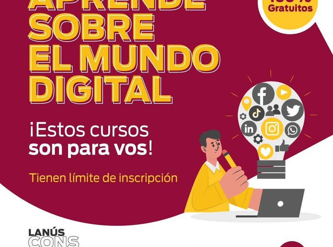 Municipio abrió la inscripción para cursos digitales