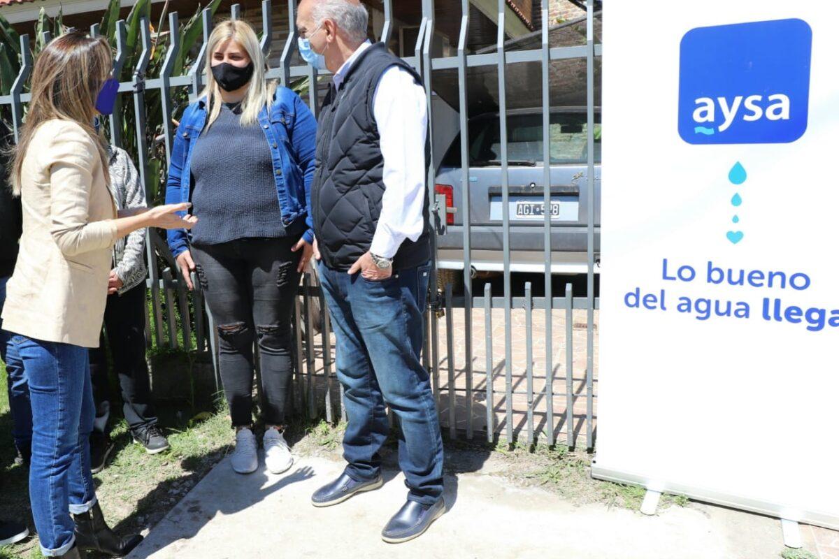 Grindetti y Galmarini inauguraron cloacas para más de 10 mil vecinos