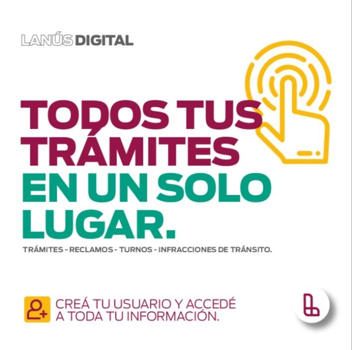 """Municipio lanzó """"Lanús Digital"""" para agilizar trámites"""